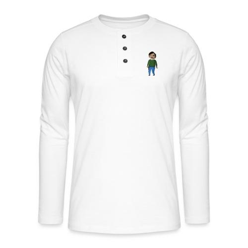PABLO - T-shirt manches longues Henley