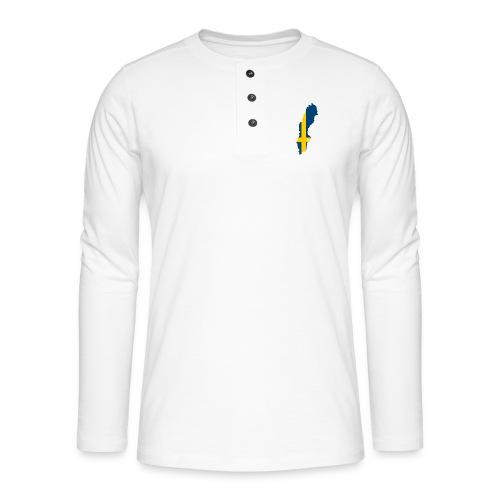 Sweden - Henley shirt met lange mouwen