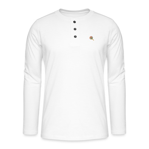lolly_emoji - Henley shirt met lange mouwen