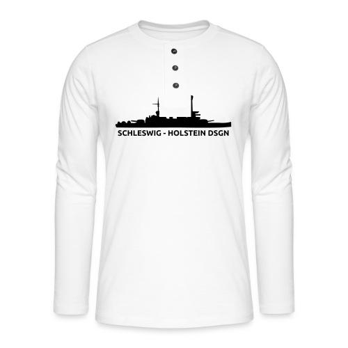 Schleswig-Holstein DSGN - Koszulka henley z długim rękawem