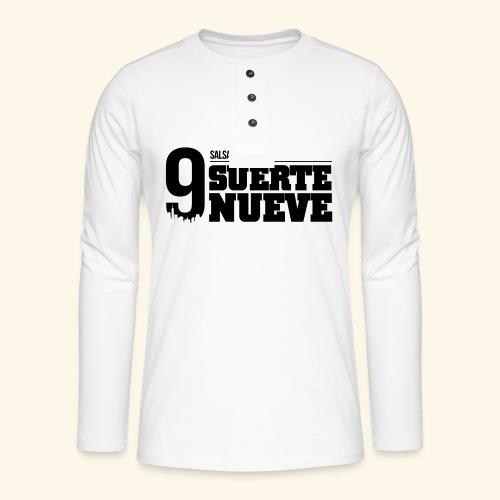 Logo Suerte - T-shirt manches longues Henley
