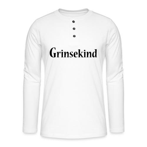 Grinsekind - Henley Langarmshirt