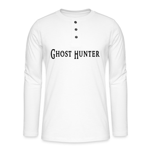 Ghost Hunter - Henley Langarmshirt