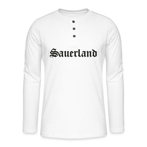Sauerland - Henley Langarmshirt