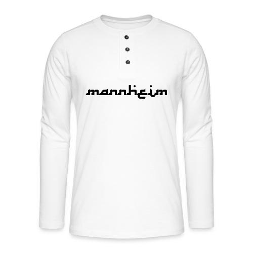 mannheim - Henley Langarmshirt