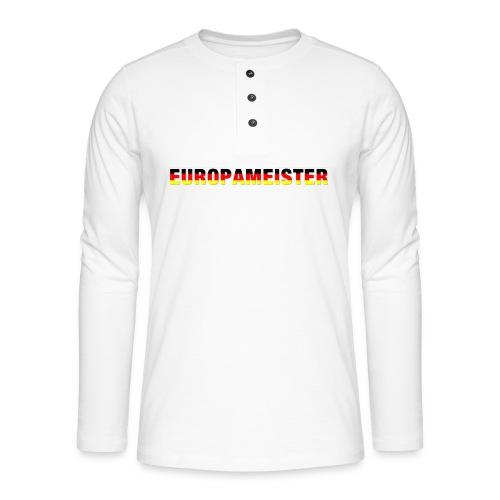 Europameister - Henley Langarmshirt