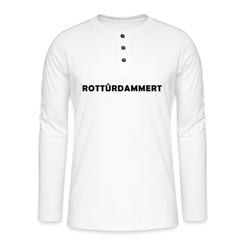 Rotturdammert - Henley shirt met lange mouwen