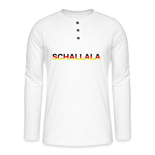 Schallala - Henley Langarmshirt
