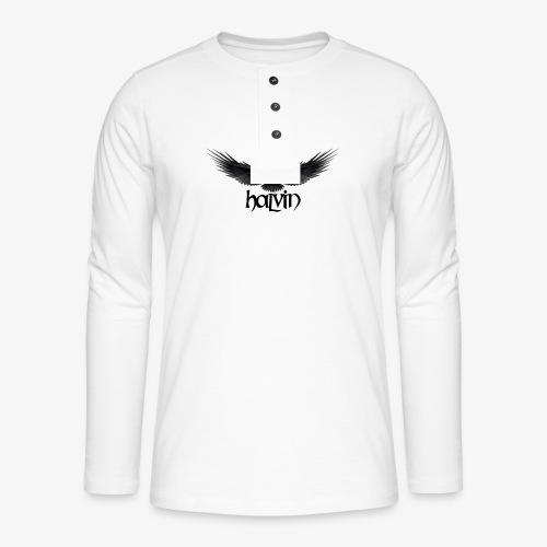 Halvin - Henley langermet T-skjorte