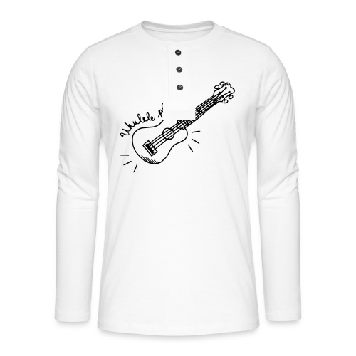 Ukulele player - T-shirt manches longues Henley