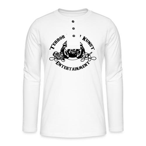 tdklogoschwarz 3 - Henley Langarmshirt