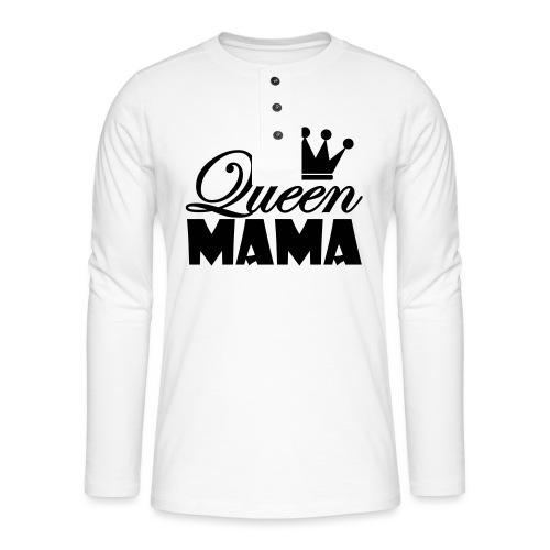 queenmama - Henley Langarmshirt