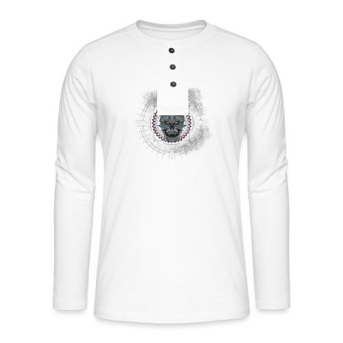 Premium - T-shirt manches longues Henley