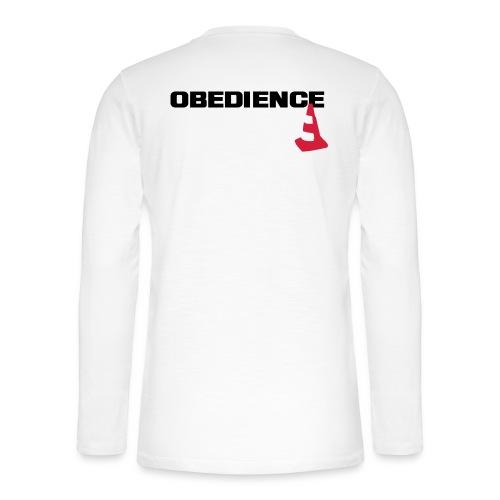 Obedience mit Pylone - Henley Langarmshirt