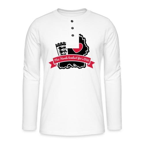 Herzle BW - Henley Langarmshirt