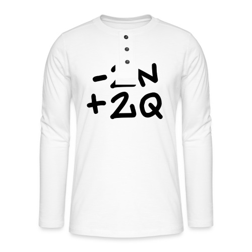 -2n+2q - Henley long-sleeved shirt