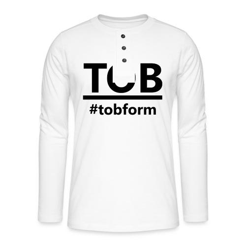 #tobform Hoodi - Henley Langarmshirt
