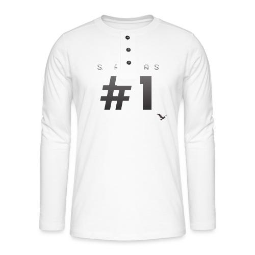 Space Atlas Ladies Long Sleeve #1 - Henley T-shirt med lange ærmer
