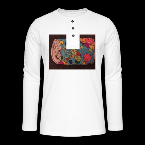 7AABC614 53CA 4156 B765 D9FBF5B8E496 - Henley T-shirt med lange ærmer