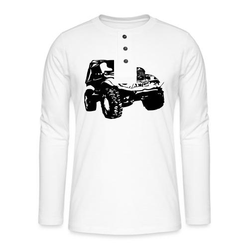 Russischer Geländewagen GAZ 69 - Henley Langarmshirt