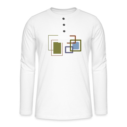 Quadratisch - Henley Langarmshirt