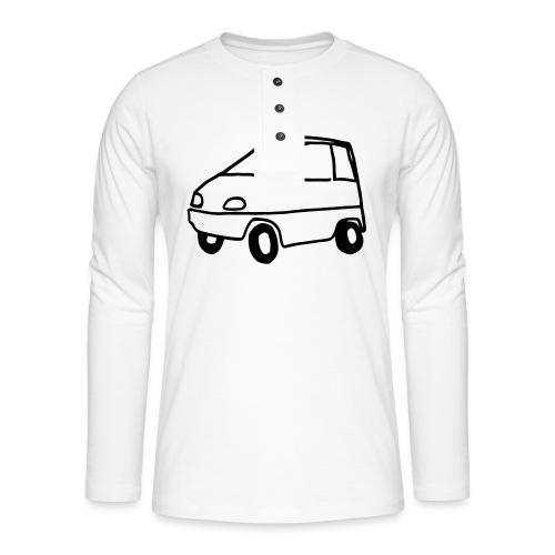 Cantacar - Henley shirt met lange mouwen