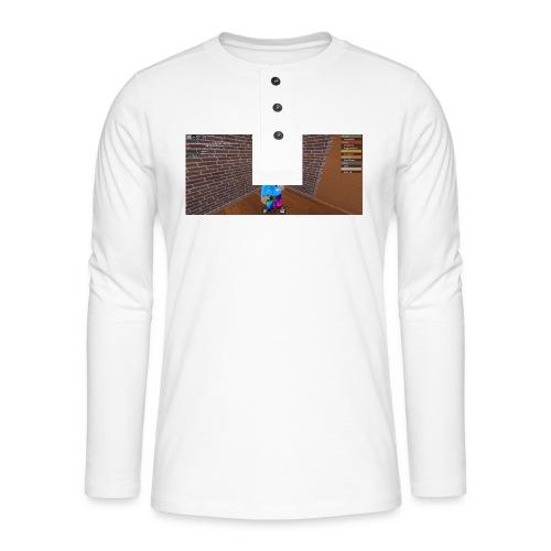 panda time - Henley long-sleeved shirt