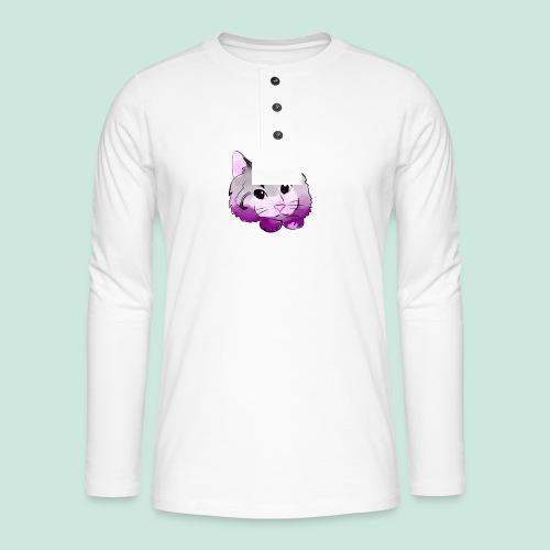 meow - Henley long-sleeved shirt