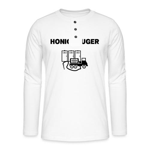 Der Honigsauger - Henley Langarmshirt
