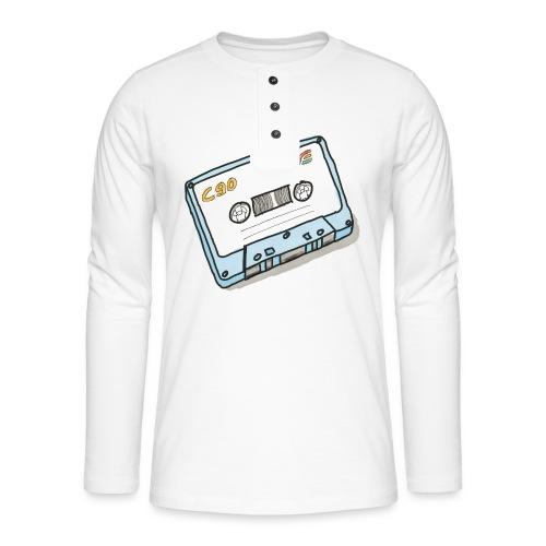 Cassette - Henley Langarmshirt