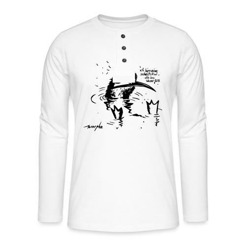 Kiwi - Henley Langarmshirt