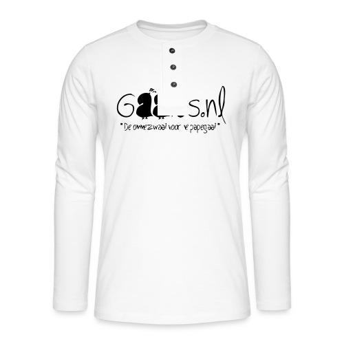 gaaies - Henley shirt met lange mouwen