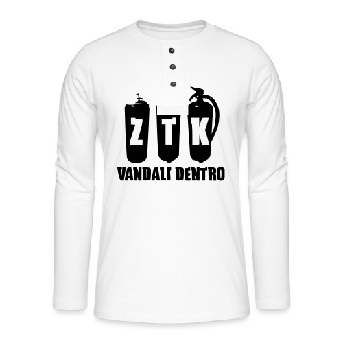 ZTK Vandali Dentro Morphing 1 - Henley long-sleeved shirt
