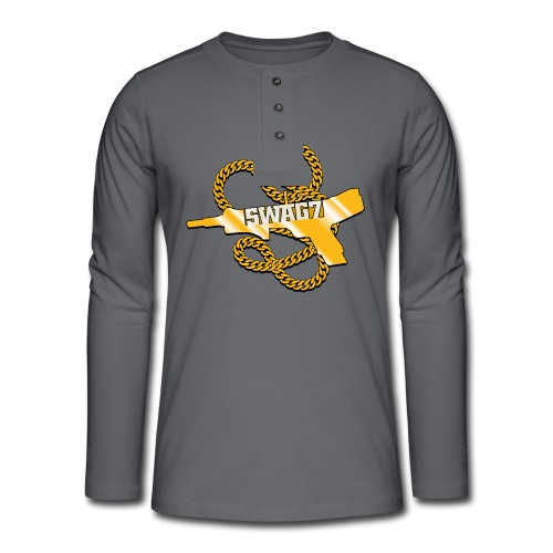 SWAG7 CS:GO - Henley long-sleeved shirt