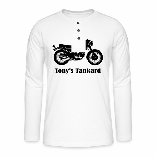tonys tankard - Henley long-sleeved shirt