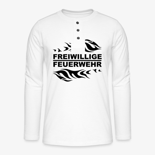 FFW Flame - Henley Langarmshirt