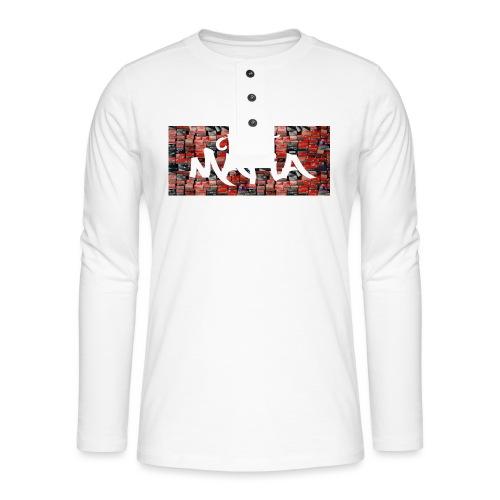 cleat_mafia - Henley long-sleeved shirt