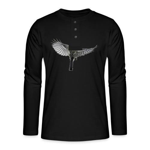 Vogel - Henley Langarmshirt