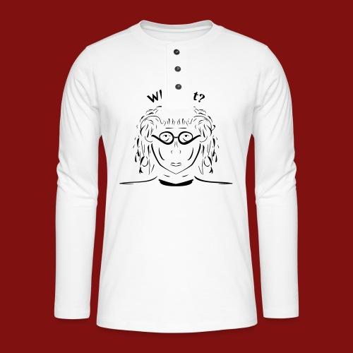 whynot_umgewandelt_neu - Henley Langarmshirt