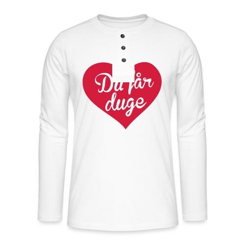 Ekte kjærlighet - Det norske plagg - Henley langermet T-skjorte