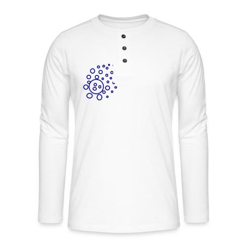T-Shirt Kugeln - Henley Langarmshirt