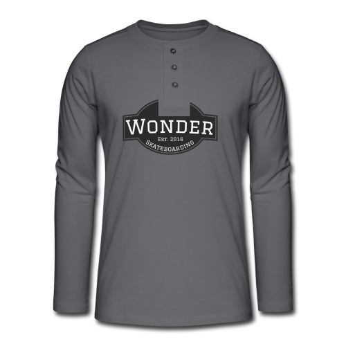 Wonder T-shirt - ol' small logo - Henley T-shirt med lange ærmer