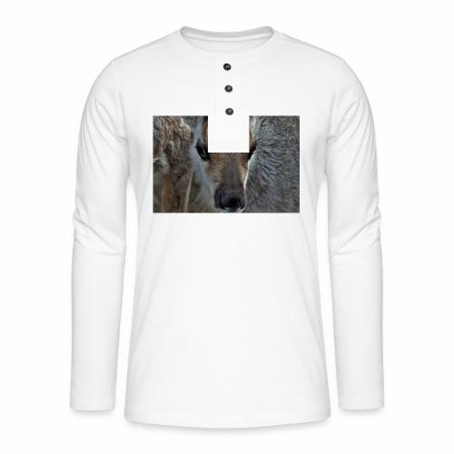 Reinkalv - Henley langermet T-skjorte