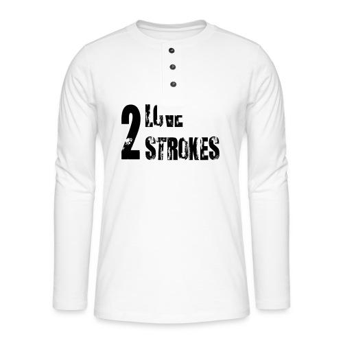 Love 2 Strokes - Maglia a manica lunga Henley
