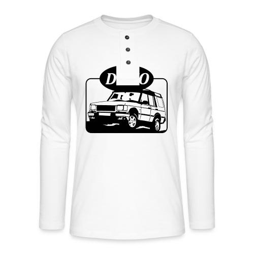 landroverdisco01dblack - Henley langermet T-skjorte