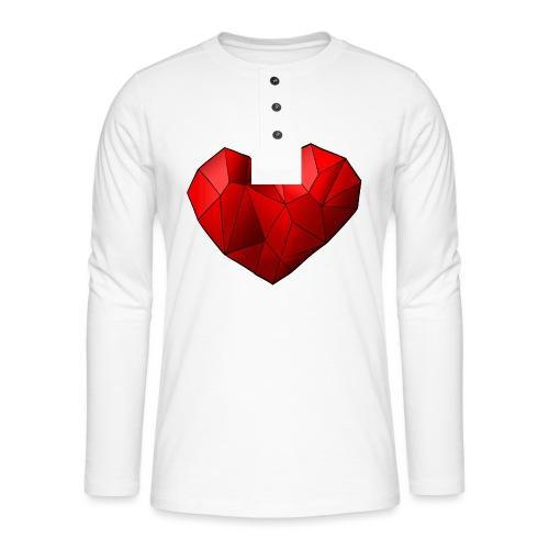 Heartart - Henley long-sleeved shirt