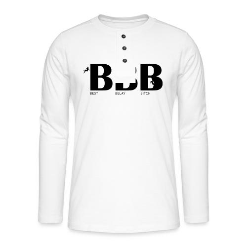 Best Belay Bitch - Henley Langarmshirt