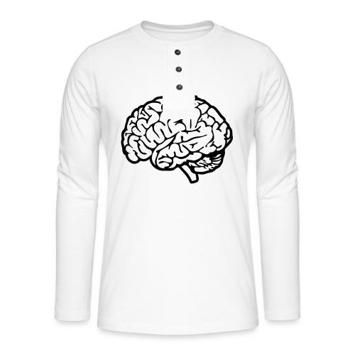 cerveau - T-shirt manches longues Henley