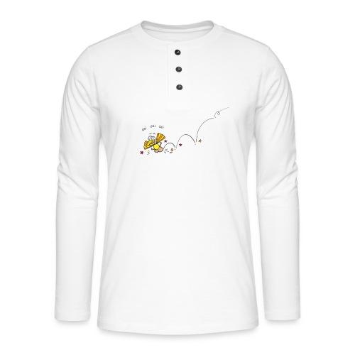 Oei Oei Vogeltje - Henley shirt met lange mouwen
