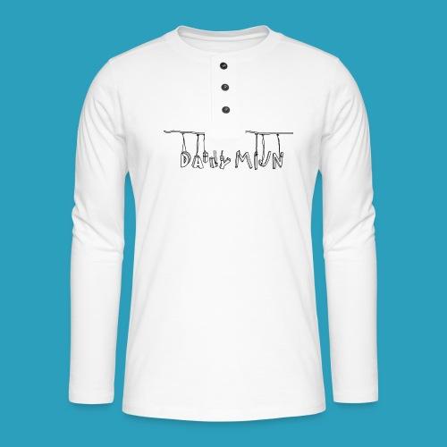 opnieuw png - Henley shirt met lange mouwen